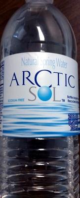 Natural Spring Water - Produit