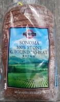 Sonoma 100% stone ground wheat bread - Product