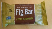 Stone Ground Whole Wheat Fig Bar Apple Cinnamon - Product