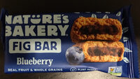 Stone ground whole wheat fig bar, blueberry - Product - en