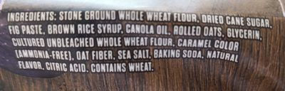 FIG BAR, FIG - Ingredients - en