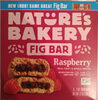 Raspberry real fruit & whole grains fig bar, raspberry - Product