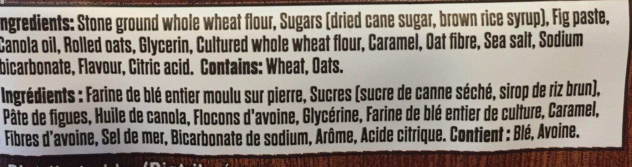 Barre aux figues - Ingrédients - fr