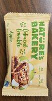 nature's bakery oatmeal crumble apple - Product - en