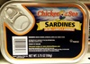 Sardines in oil lightly smoked - Product