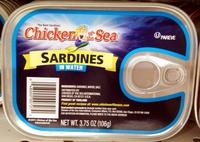 Sardines in water - Produit