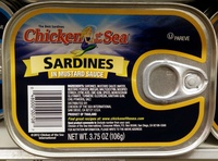 Sardines in Mustard Sauce - Produit