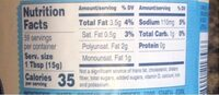 Hellmanns mayonnaise light - Nutrition facts - en