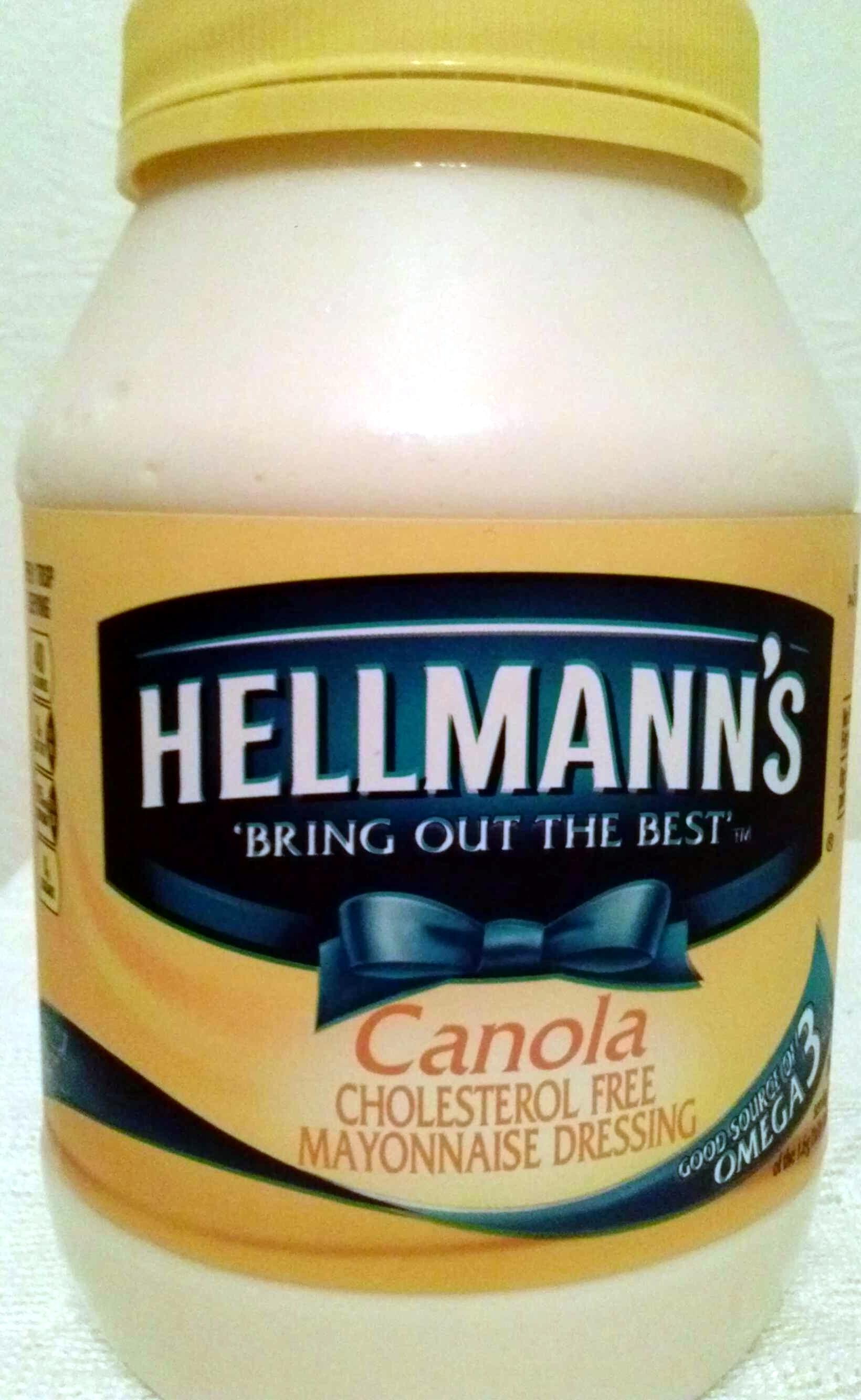 Canola mayonnaise dressing - Product