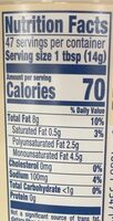 Vegan dressing & spread - Nutrition facts - en