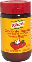 Knorr, tomato bouillon, with chicken flavor - Product - en