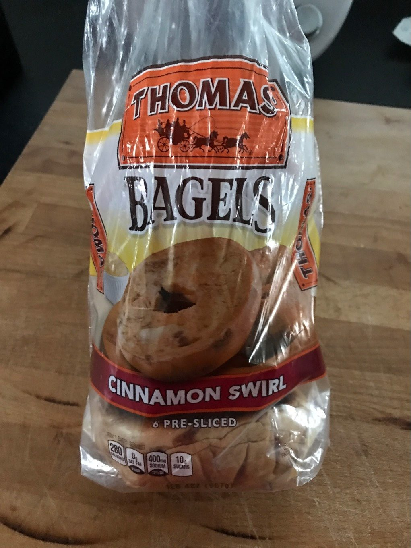Bagels, Cinnamon Swirl - Produit