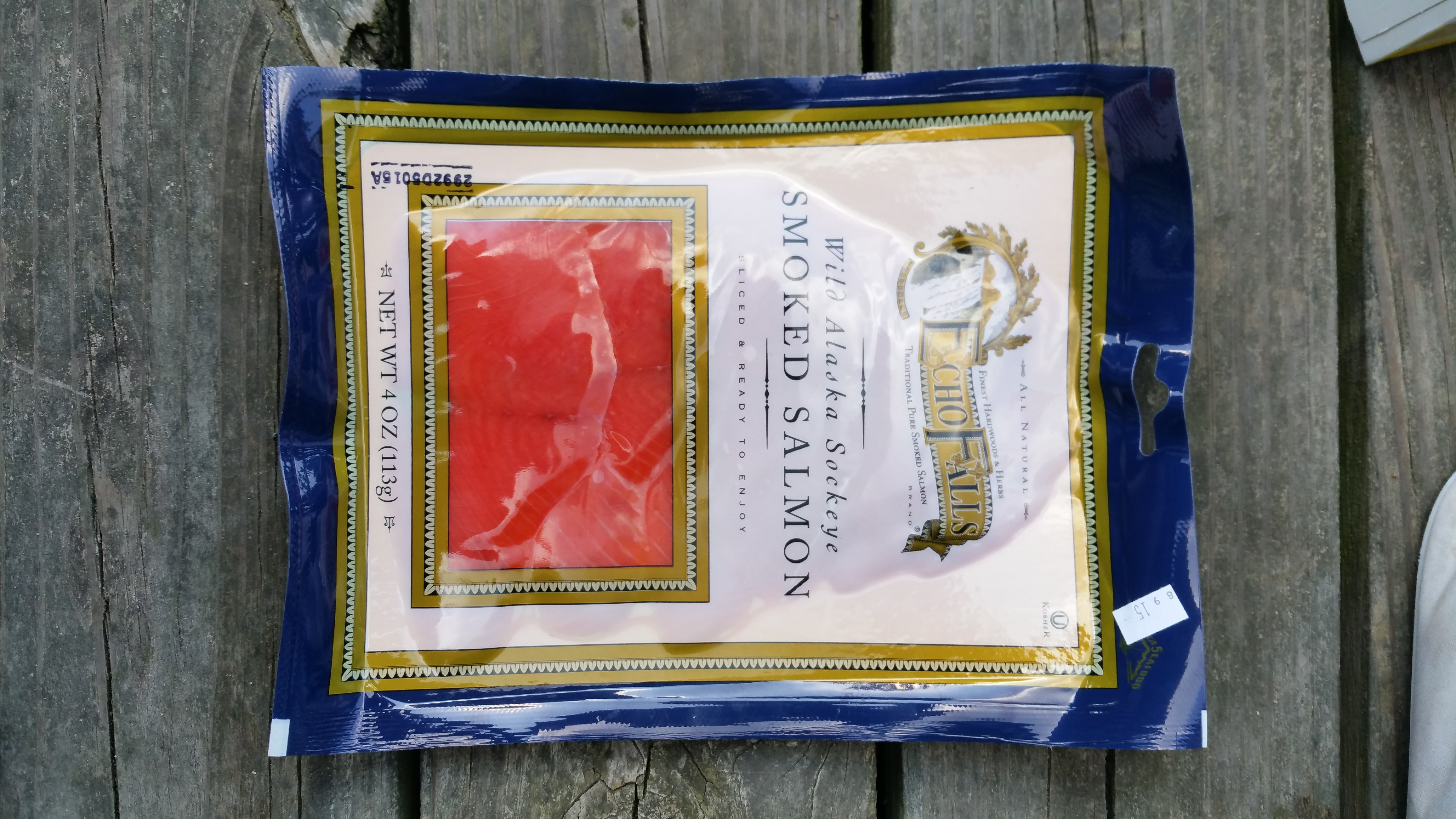 Wild Alaska Sockeye Smoked Salmon - Product - en