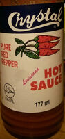 Crystal Louisiana Hot Sauce Red Pepper - Product - en