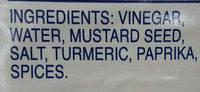 mustard - Thành phần