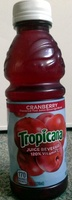 Cranberry flavored juice beverage blend of cranberry and grape juices from concentrate - Product - en