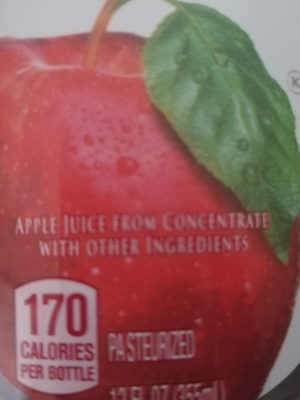 Orchard Style Apple Juice - Nutrition facts