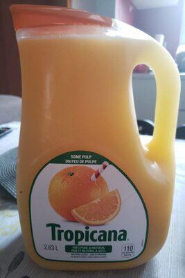 Jus d'orange - Un peu de pulpe - Product - fr