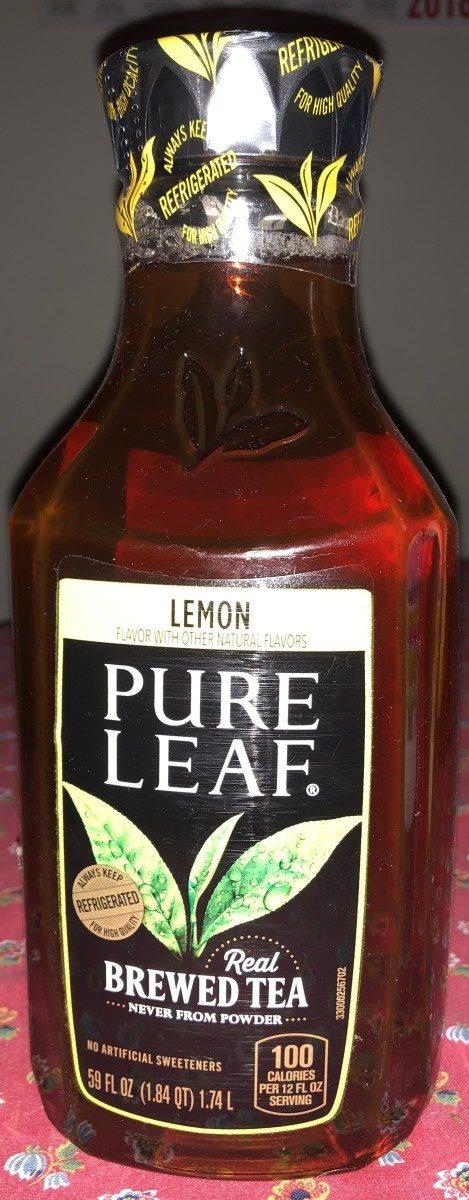 Brewed tea, lemon - Product - en