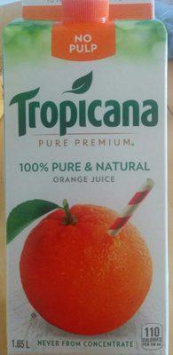 Jus d'orange à 100% - Product - fr