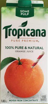 Homestyle Orange Juice Some Pulp - Product - en