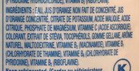 Trop 50 - Ingredients - fr