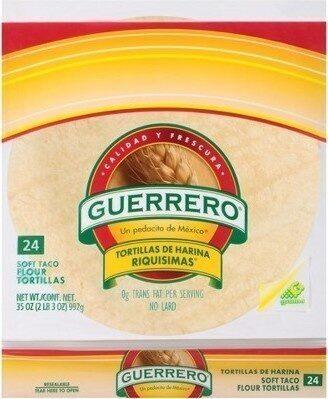 Soft Taco Flour Tortillas - Product - en