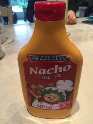 Squeeze Cheese - Nacho Cheese Sauce - 440 ML - Produit