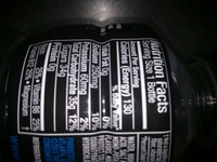 Mountain berry blast electrolyte enhanced sports drink - Produit
