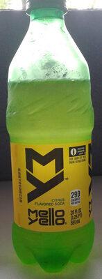 MelloYello citrus flavored soda - Product