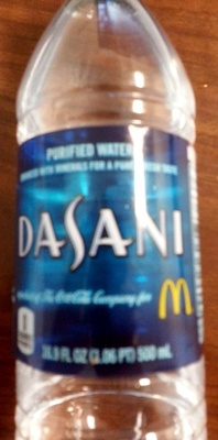 Dasani Purified Water - Produit - en