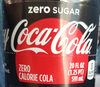 Coca-cola Zero Cola 20 Oz - Product