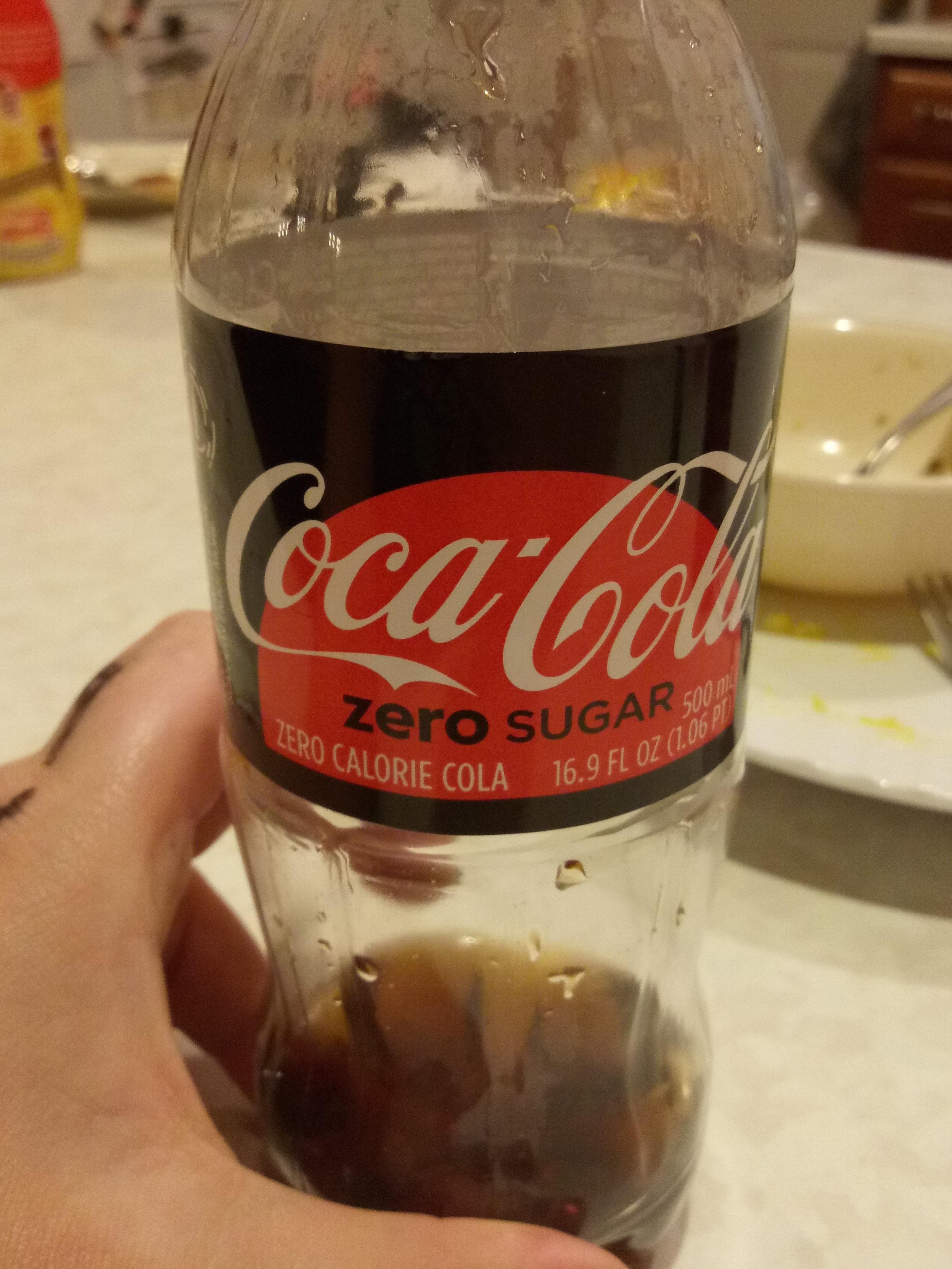 Coca-Cola Zero Sugar - Produit - en