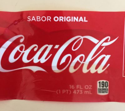 Coca cola - Produit