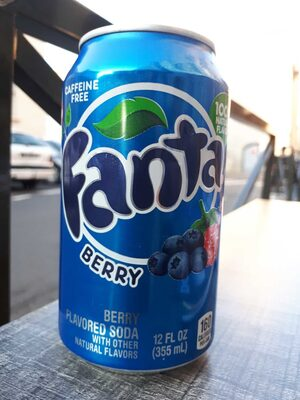 Fanta Berry - Product - es