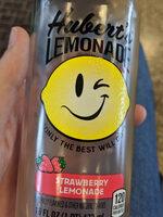 Hubert's strawberry lemonade - Product
