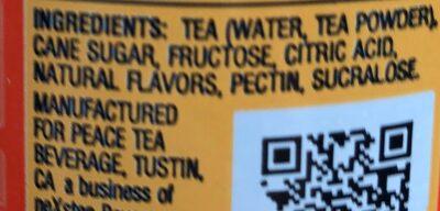 Tea tea - Ingredients - en
