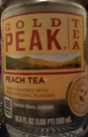 gold peak peach tea - Product