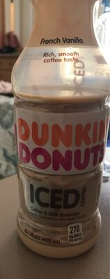 Dunkin' Donuts Iced Coffee French Vanilla - Product