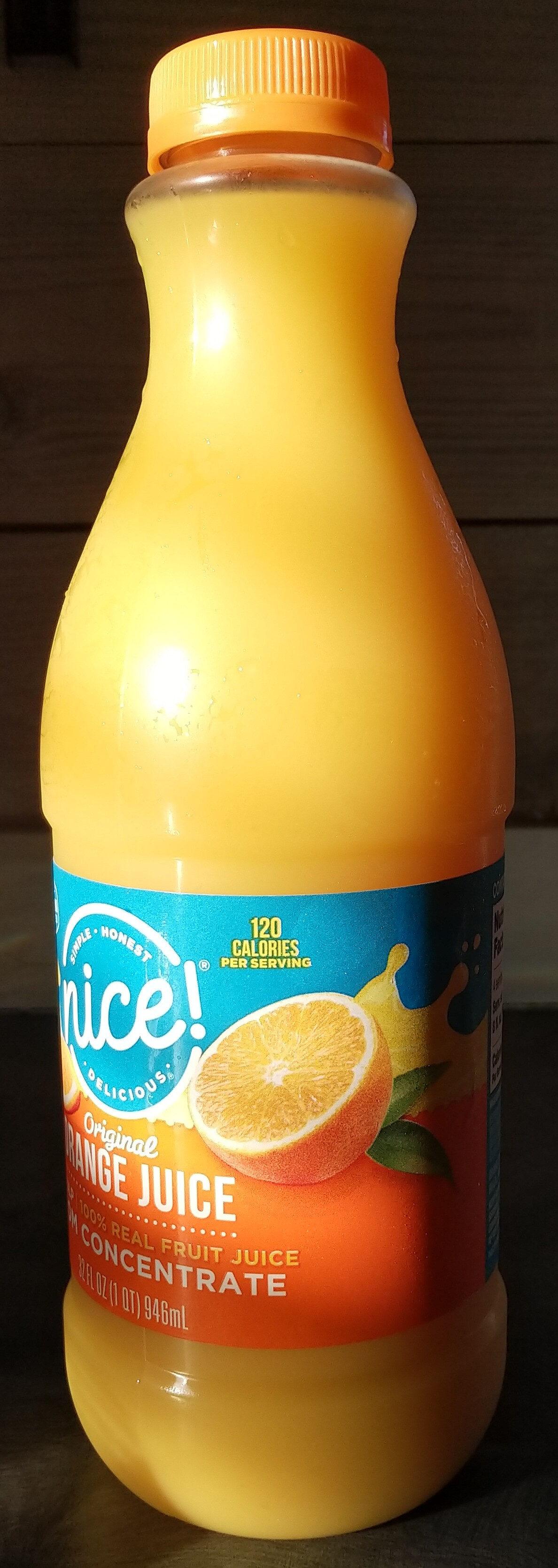 Original orange juice - Product - en