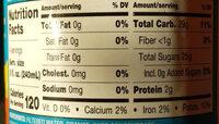 Original orange juice - Nutrition facts - en