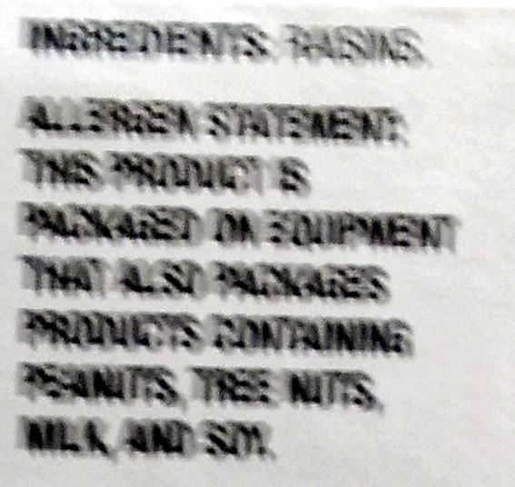 Sun dried raisins - Ingredients - en