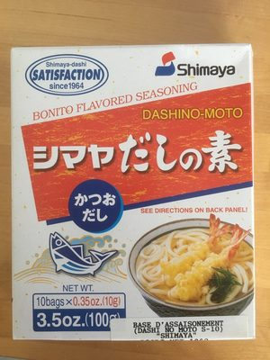 Bonita Flavored Seasoning - Prodotto - fr
