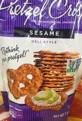Pretzel crackers - Product - en