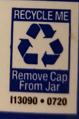 vegenaise - Recycling instructions and/or packaging information - en