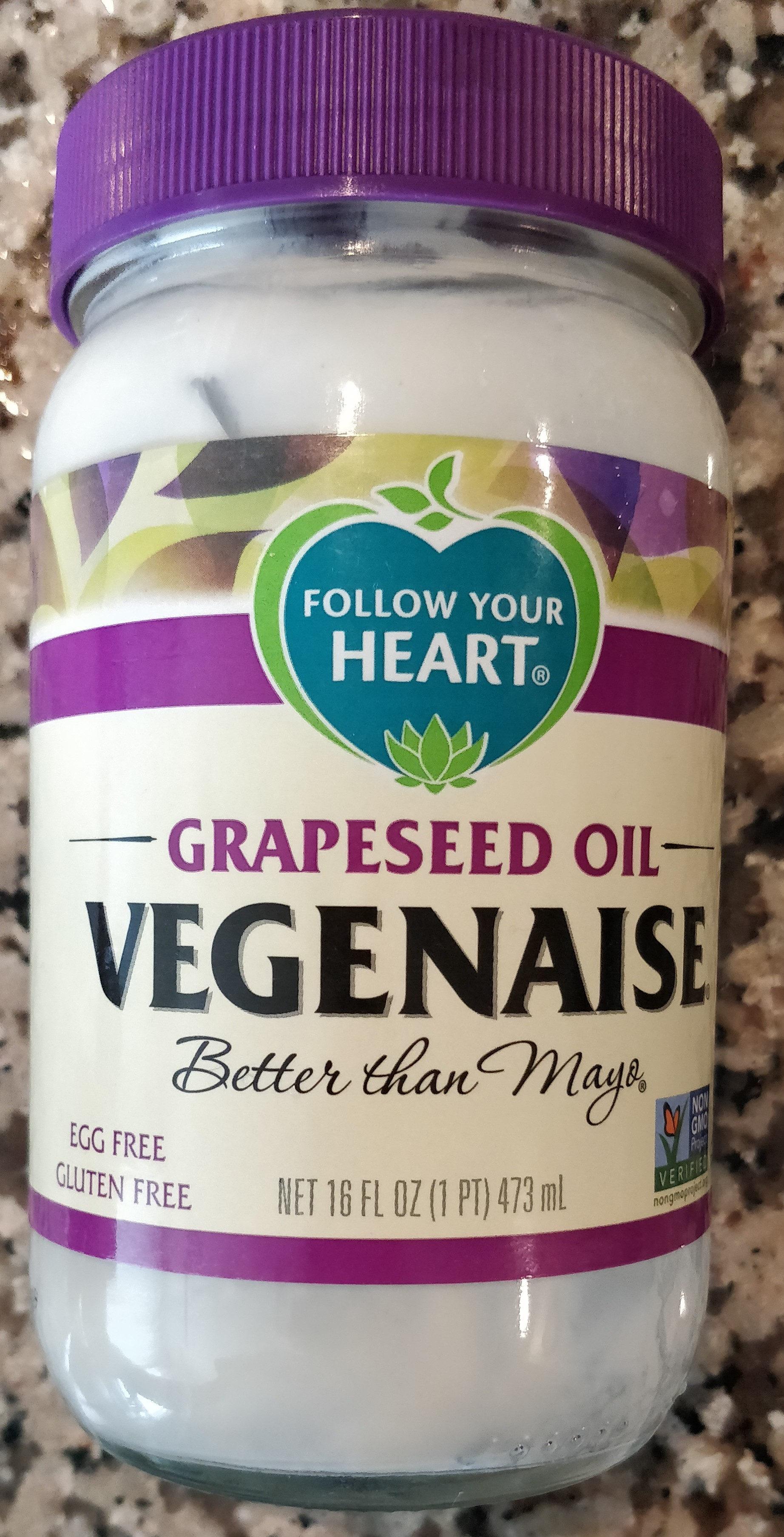 Grapeseed oil vegenaise - Product - en