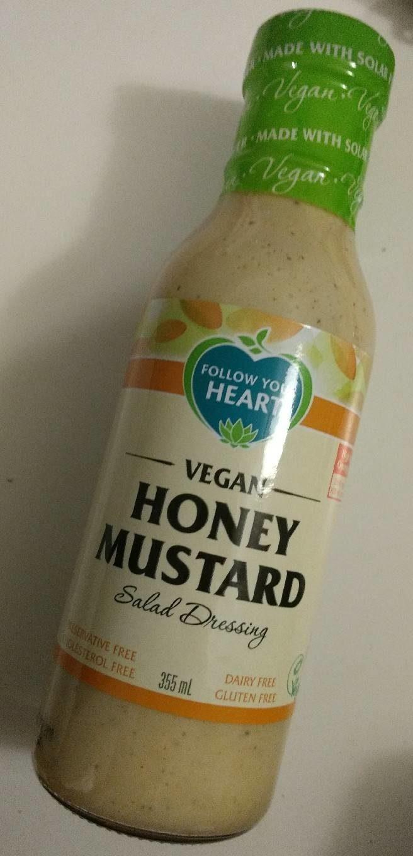 Vegan Honey Mustard Salad Dressing - Product - en