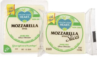 Mozzarella Style Slices - Product - en
