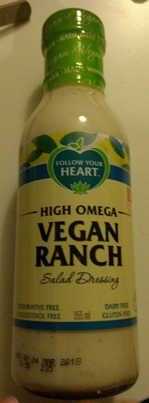 Vegan ranch sauce - Product - fr