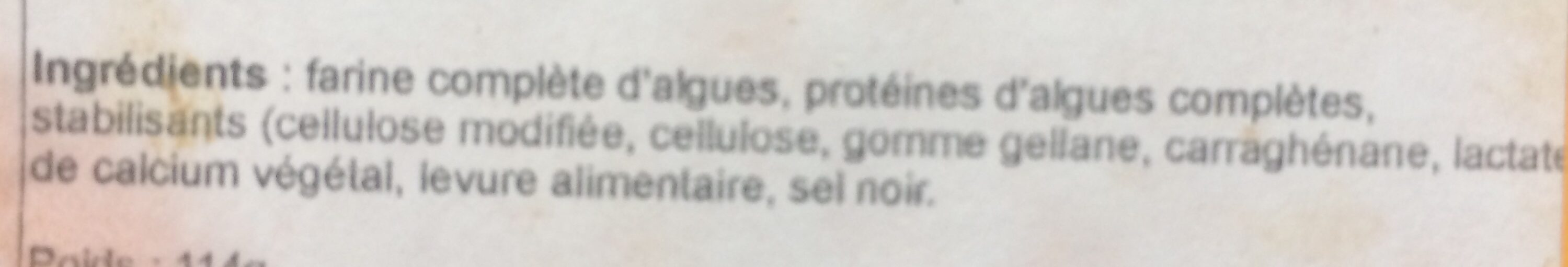 Veganegg - Ingrédients